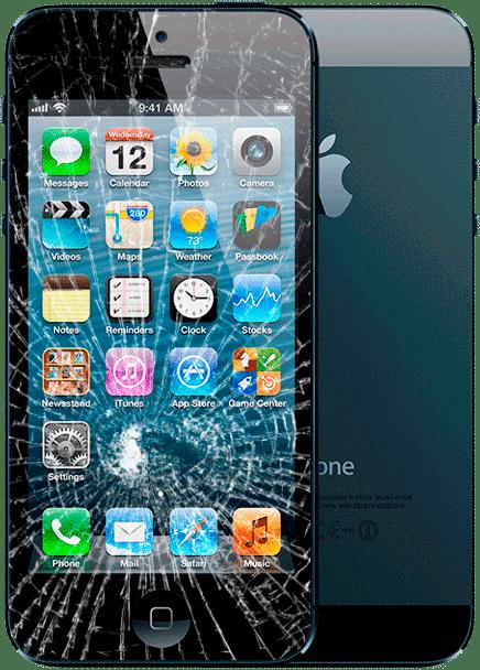замена стекла iphone 5 москва цена